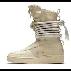Nike Air Force 1 AF1 High Special Rattan Boots